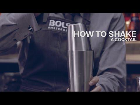 How to Shake a Cocktail - Bols Bartending Academy