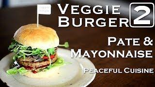 "Making Veggie Burger 2/3 ""pate & Mayonnaise"" ☆ ベジバーガーの作り方2〜パテとマヨネーズ〜"