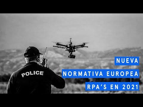 Nueva normativa Europea drones en 2021, con Stefano Munar