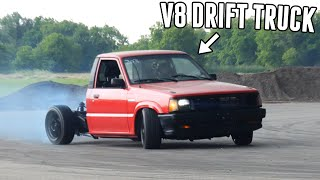 Drift Truck's NEW SUSPENSION is PUT TO THE TEST!