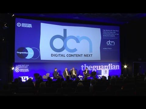 Adblocking panel at AdWeek Europe