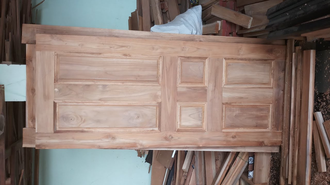 Teak Wood Door Designs And It S Pattern Identification