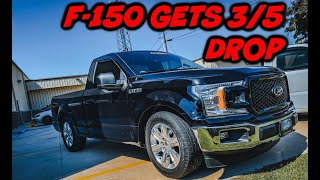 2020 FORD F-150 DROPPED