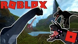 Roblox Dinosaur Simulator - NIGHT RAVAGER UTAHRAPTOR AND MEGAVORE! (Unofficial DS Bday Vid)