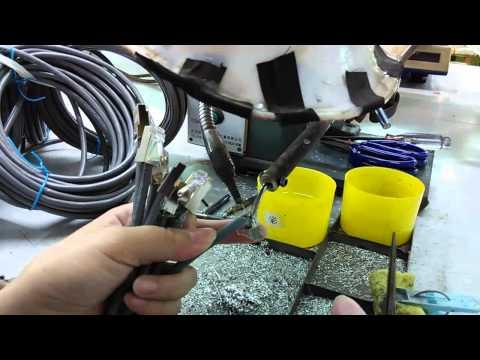 2、LAN CABLE Production Procedure