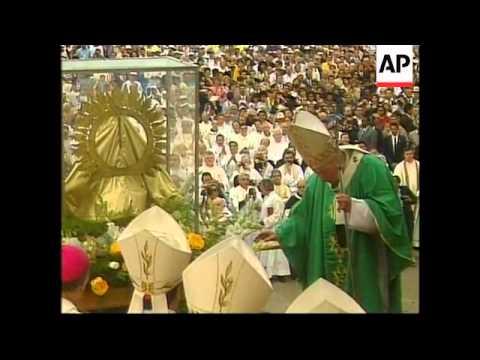 Cuba - Visit Pope John Paul II