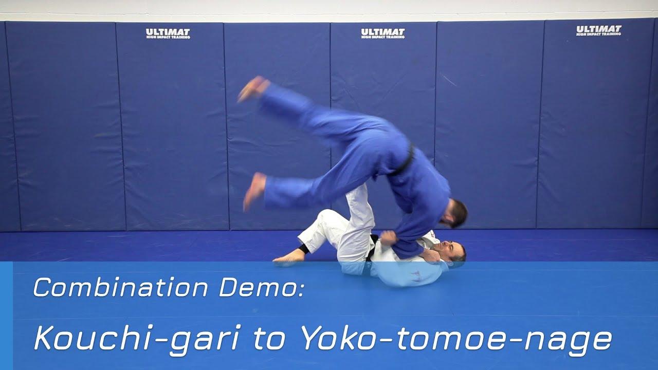 Kouchi-gari to Yoko-tomoe-nage - Combination Demo