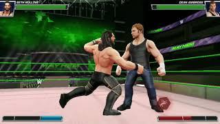 Aj styles vs. Kevin Owens | WWE 2K17  | Cili Gammer