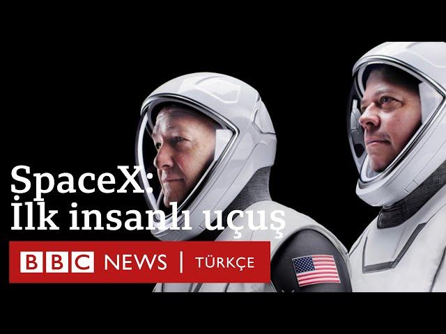 SpaceX'in ilk insanlı uzay seferi hakkında merak edilenler - BBC News Türkçe