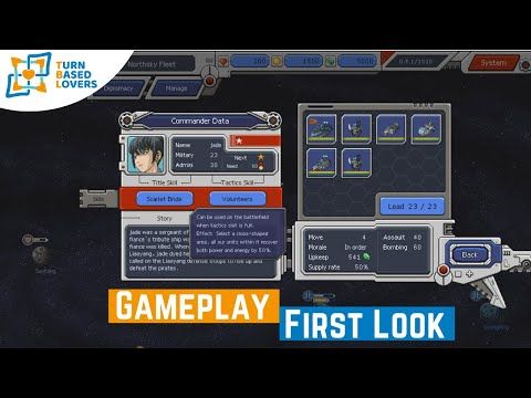 Chaos Galaxy - Pixel-art Turn-based War Game - First Look