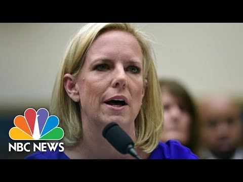 Gutierrez To DHS Secretary Nielsen: 'It's As If You & The Trump Administration Are Blind'   NBC News