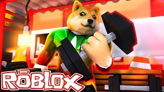 I HAVE THE BIGGEST MUSCLES IN THE WORLD! Roblox Weight Lifting Simulator in Spanish
