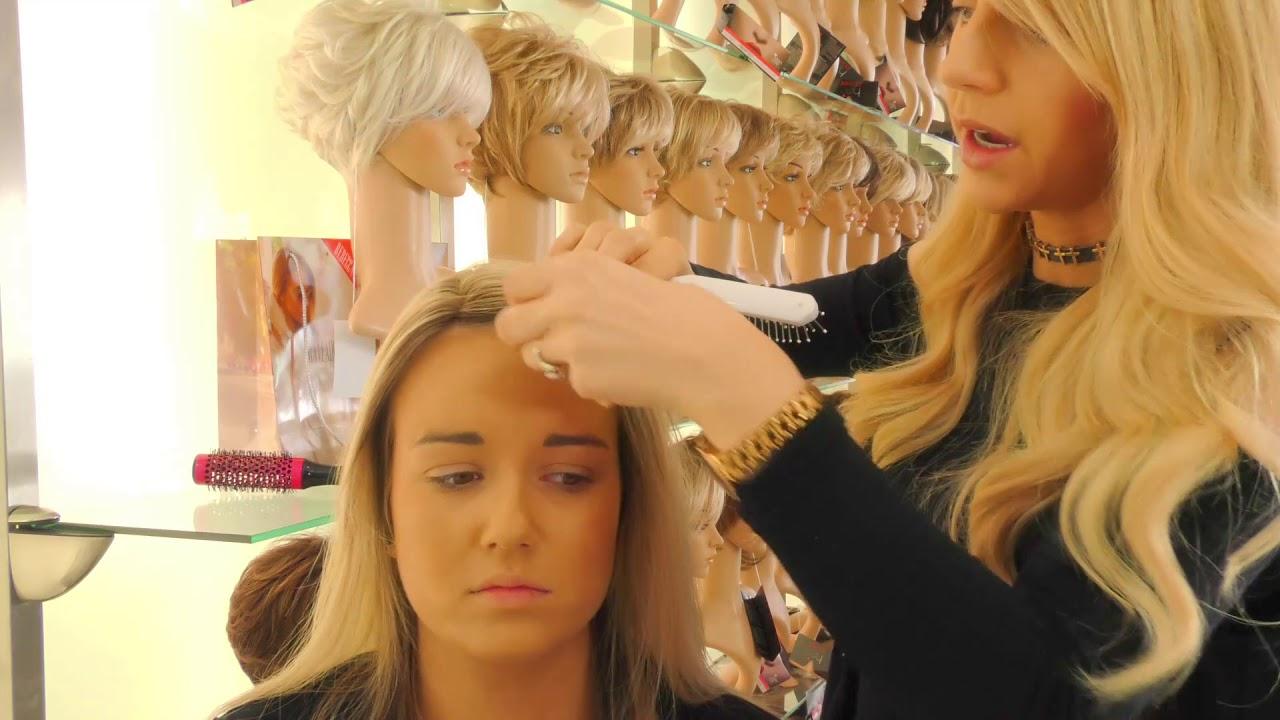 Hair Topper Crown Hair piece Ireland