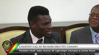 Courtesy Call by Richard Oblittey Commey