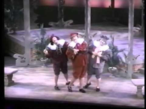 John Payonk In Gilbert  & Sullivan PATIENCE Trio