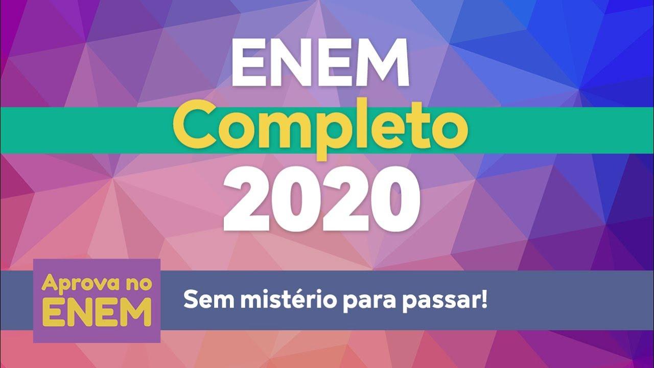ENEM Completo 2020 - YouTube
