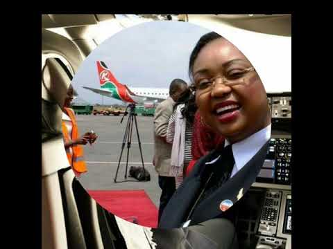 FIRST AFRICAN FEMALE BOEING 787 DREAMLINER PILOT