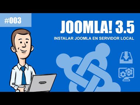 Curso de Joomla 3.5: Descarga e Instalación de Joomla en host local servidor local by @TuJoomla