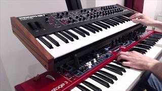 Riding The Scree (Genesis keyboard cover)