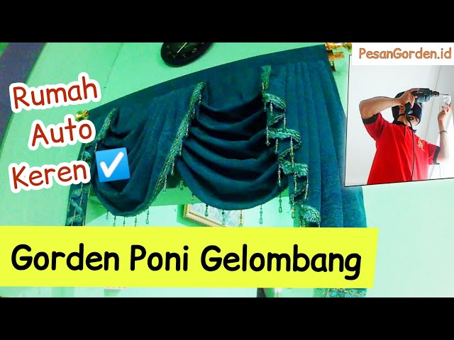 PEMASANGAN GORDEN PINTU - GORDEN PONI GELOMBANG | PesanGorden.id 0823 1098 9451