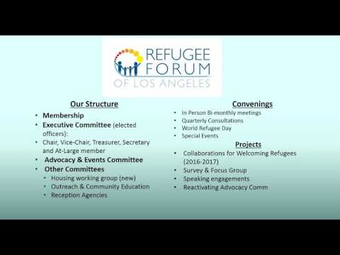 Post Webinar Discussion Community Engagement  Refugee Focused Collaboratives