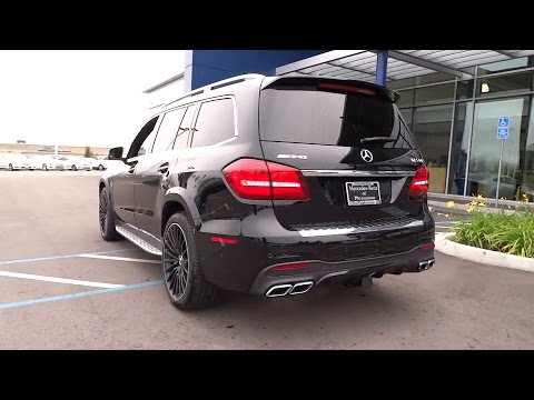 Sound 2017 mercedes benz amg gls63 exhaust short drive for Mercedes benz livermore