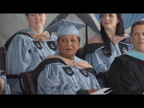 Columbia Business School Recognition Ceremony 2017