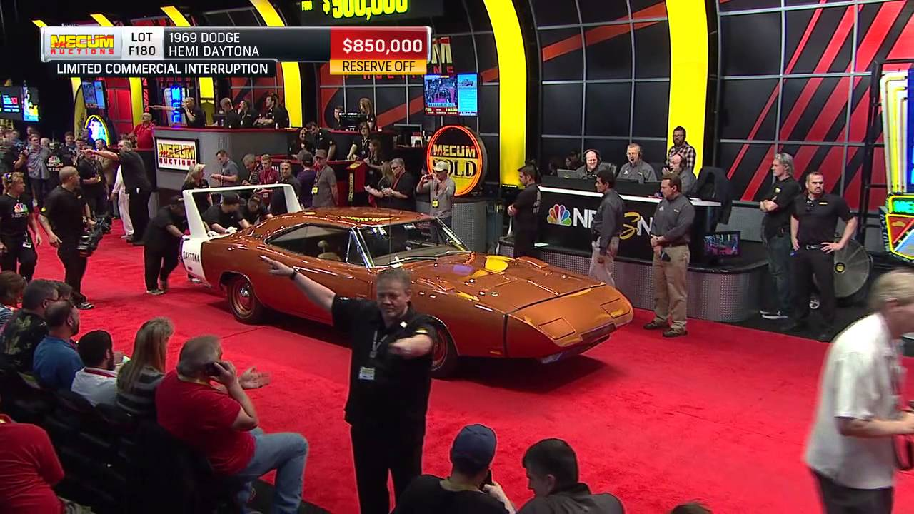 1969 Dodge Hemi Daytona Sells for $900,000 - YouTube