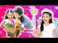 Bidadari kasi Mystery Box? ENAK Nyam Nyam Popstix & Es Coklat   Drama Anak Parodi CnX Adventurers