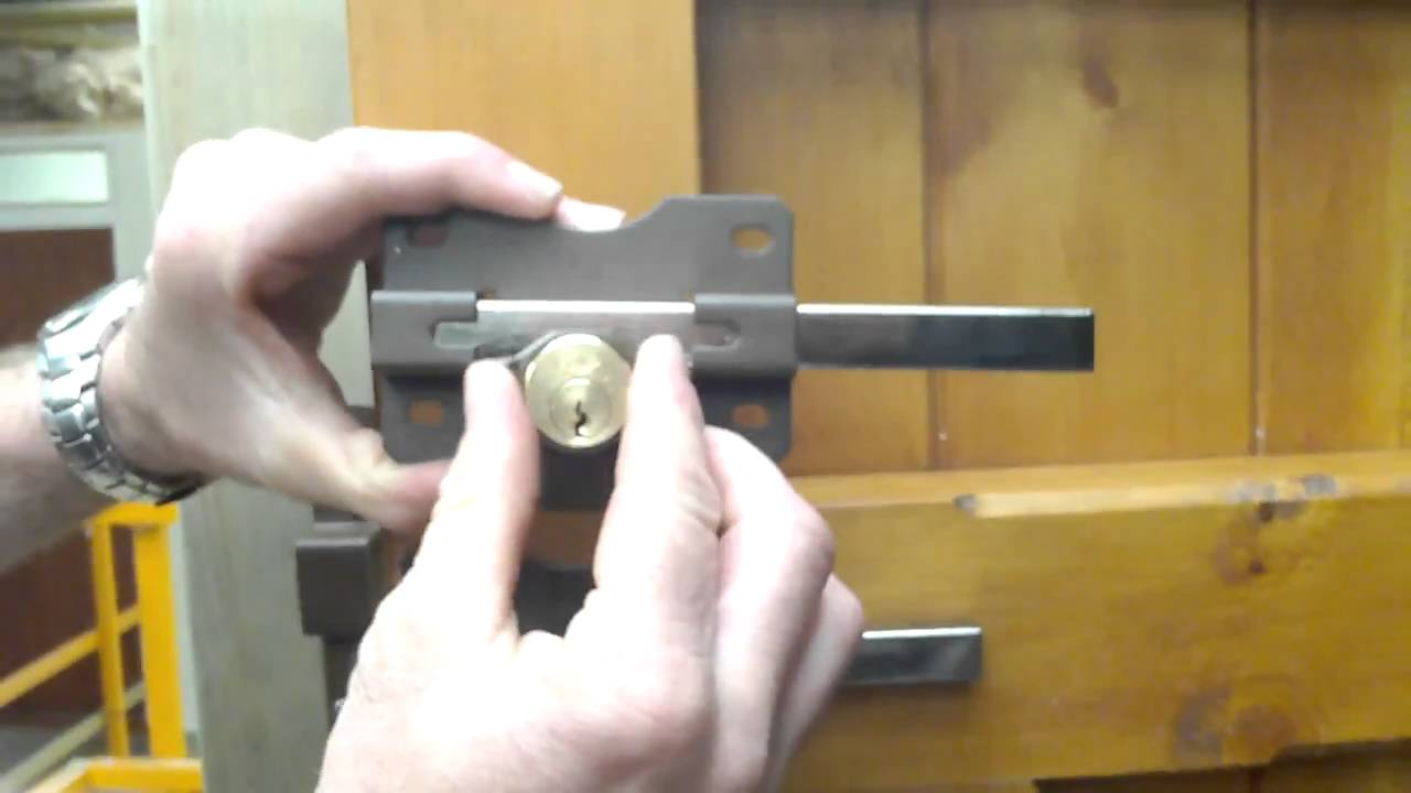Long Throw Gate Locks Youtube
