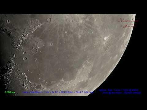 Moon 300x Zoom! UHD , Leica Apo-Telyt, up to 15 000mm