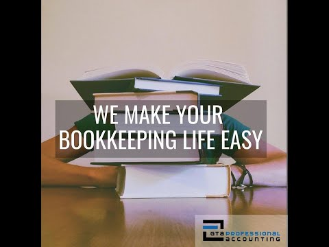 Bookkeeping For Your Small Business In Canada (2019)