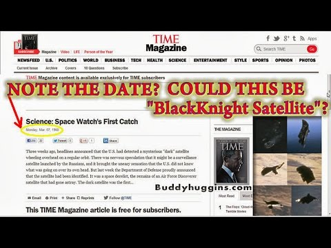 The Black Knight Satellite new UFO information Now in 15 Languages