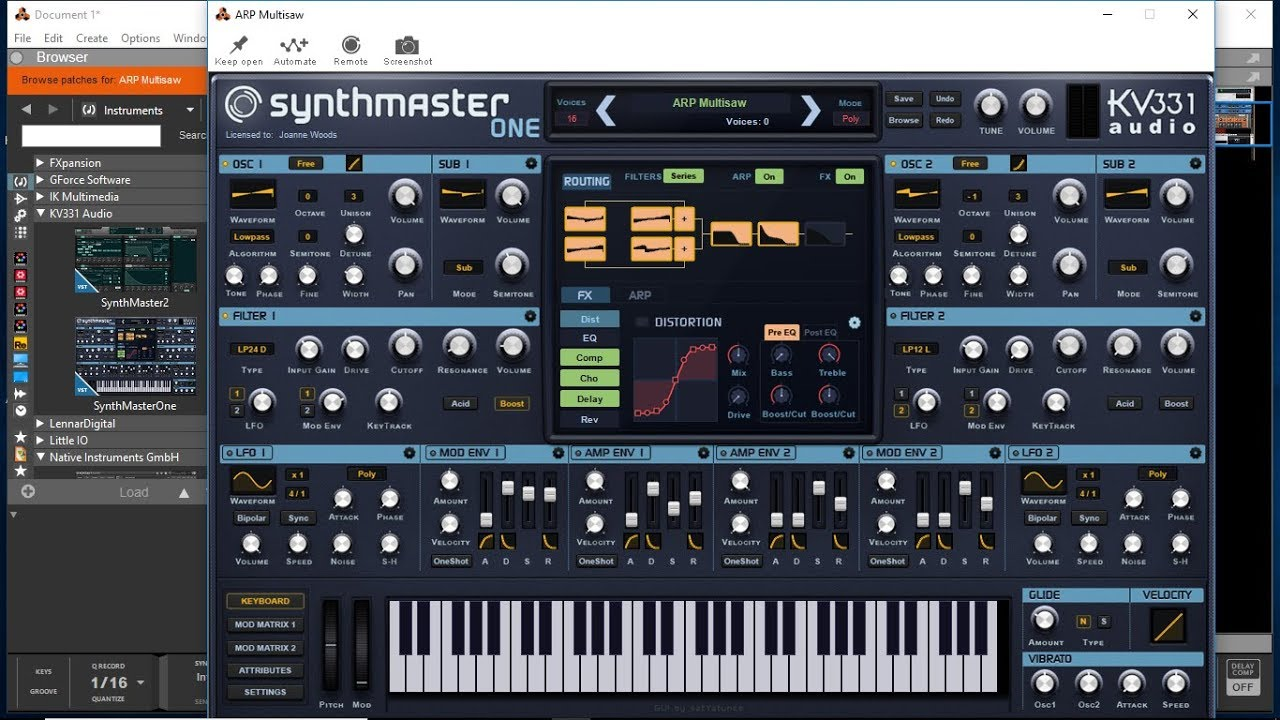 synthmaster one vst review