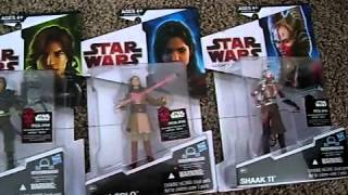 Star Wars The Legacy Collection Toys R Us Exclusive Expanded Universe Wave 13 Overview!
