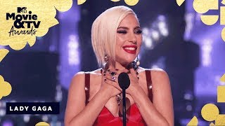 Lady Gaga Accepts The Award for Best Music Documentary | 2018 MTV Movie & TV Awards