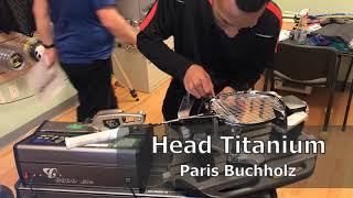 Time Lapse: How to String a Head Titanium Badminton Racquet
