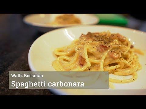 Spaghetti Carbonara! (zonder Room)