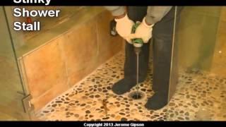 Stinky Shower Drain