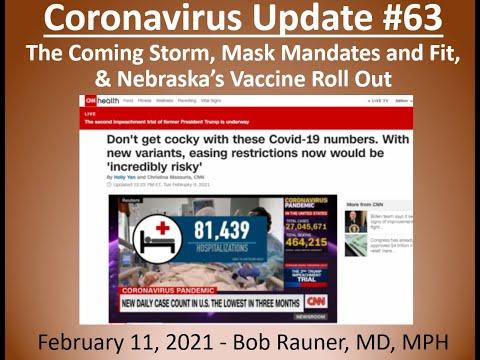 2021 Feb 11 Coronavirus Community Update V63 Recording
