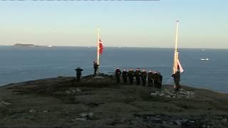 Flag på Isbjørne Ø
