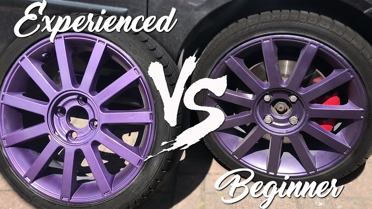 Rims Vs Wheels >> How NOT to Paint Wheels VS How To PROPERLY Paint Wheels - YouTube