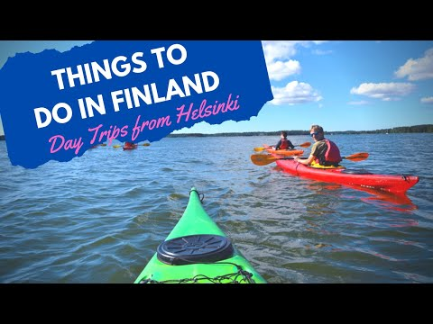 THINGS TO DO in Finland for a weekend & Helsinki Daytrips & Porvoo & Kayaking (GoPro Hero4)