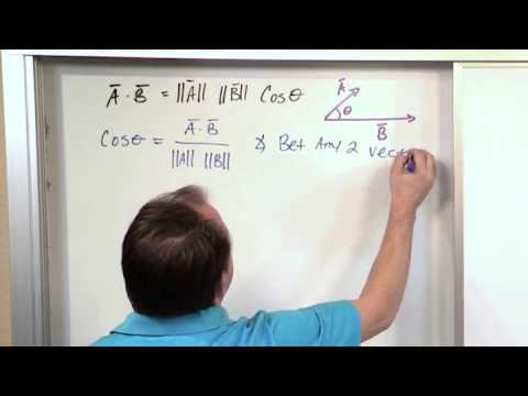Lesson 10 - Orthogonal And Orthonormal Vectors (Linear Algebra)