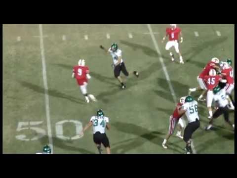 Jameson Johnson Tomball High school football highlights 2011