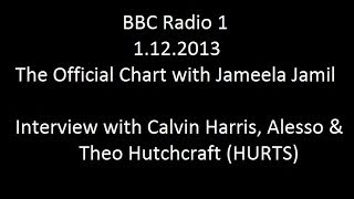 Interview with Calvin Harris, Alesso & Theo Hutchcraft (HURTS)