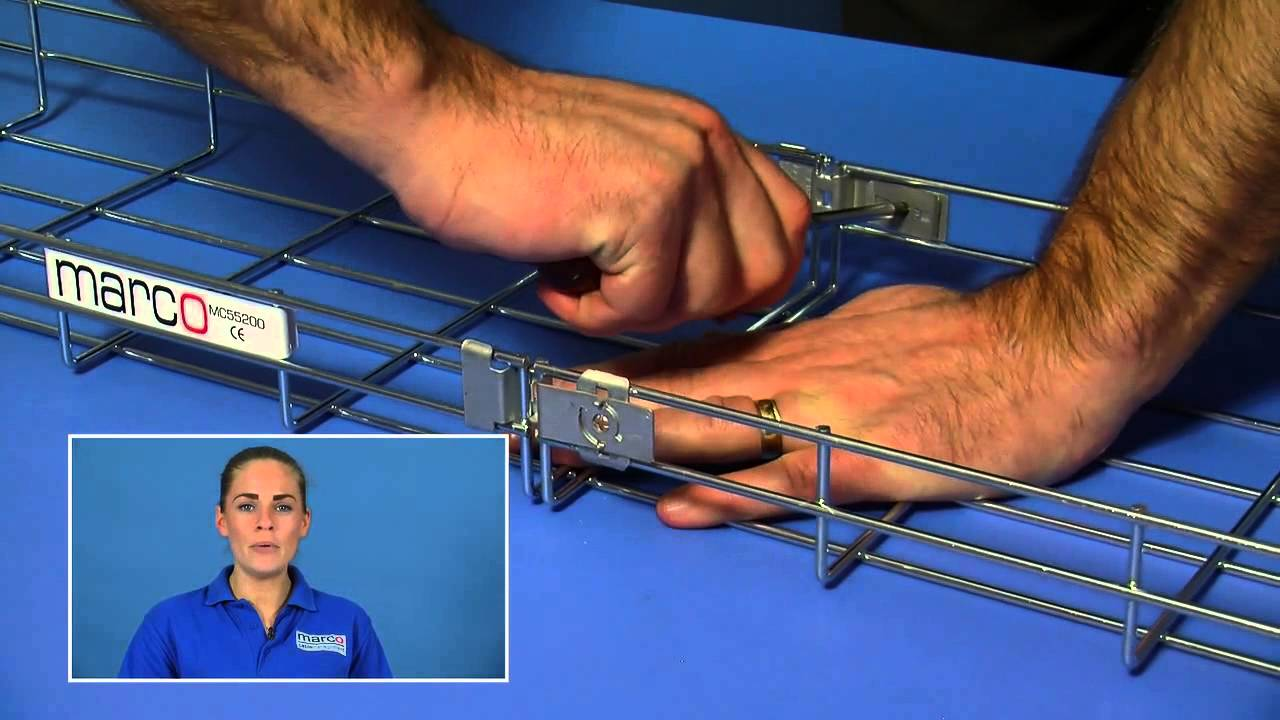 Marco Cable Management Fast Fix Side Coupler - YouTube