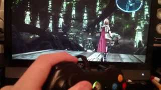 FF13 on PC 360 controller issue
