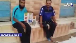 بالفيديو والصور.. إفطار جماعي لأهالي قرية الراشدة بالوادي الجديد