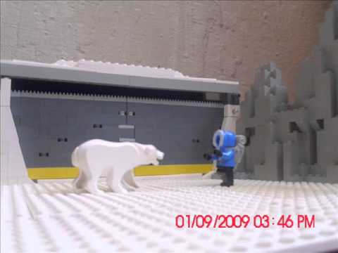 Lego Arctic Polar Bear Attack